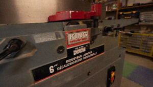 King Industrial 6 Inch Jointer