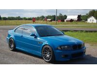 Wanted BMW E46 M3 Pref: Laguna Seca OR Topaz Blue but ANY Colour Considered!