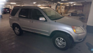 Selling Silver Honda Crv 2003 for Parts Only