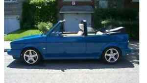 1986 Volkswagen Rabbit Cabriolet g60 turbo