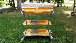 Table à langer/baignoire + humidificateur + chauffe-biberon