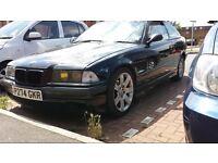 BMW e36 323i breaking