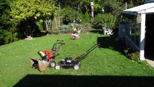 lawnmowers &