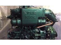 Lister petter lpw2 marine engine and gearbox