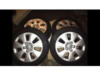 Audi A3 alloys and tyres