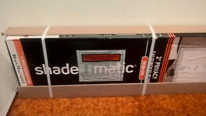BRAND NEW Blinds, 2 inch faux wood, shade o matic