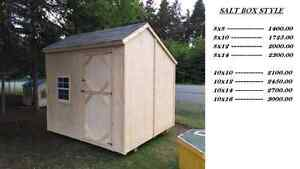 Baby Barns and Garden Sheds