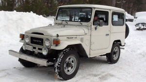 Wanted 1979/84 Toyota Land Cruiser BJ 40/42 Other
