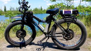 Electric Fat Bike / Fatbike Électrique