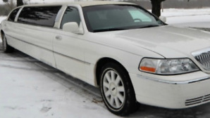"2005 Lincoln limousine 120"" stretch by Tiffany"