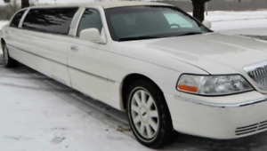 """2005 Lincoln limousine 120"""" stretch by Tiffany"""
