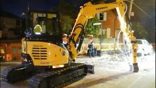 YANMAR VIO 55 EXCAVATOR DIY HIRE  YANMAR KUBOTA CAT HITACHI Sydney City Inner Sydney Preview