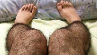 Waxing too >>PAINFUL<< !!!SUGAR!!! Done on Men/Women