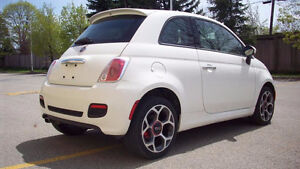 2016 FIAT 500 SPORT...LOW KM..**AUTOMATIC**... E TEST AND SAFETY