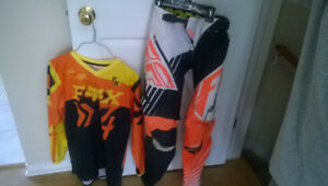 Fly Racing Youth Boys Kinetic Pants & FX Jersey