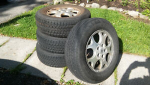 Bridgestone dueler summer tires for Saturn Vue