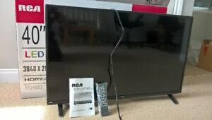 RCA 40 Inch Flat Screen TV, Like New.