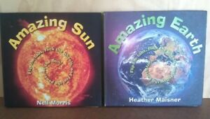 Amazing Sun, Amazing Earth: Pair of Interactive Books, for 10-16