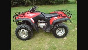 Looking to buy a ATV