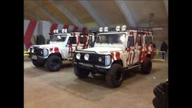 We Want Your Land Rover 110 County Station Wagon's!