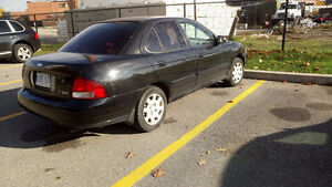 2002 Nissan Sentra GXE Sedan w/ Winter tires