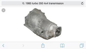 Wanted automatic tranny turbo 350/400 for 80s chevy 4x4