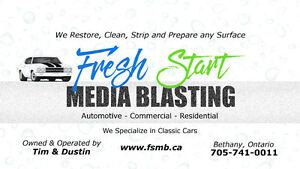 Abrasive Media Blasting for your car