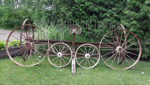Vintage Steel Wheels for Sale