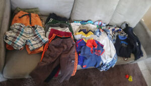 Large lot of boys 12 month clothing
