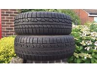 TWO BRAND NEW NOKIAN WINTER TYRES (MUST SEE)