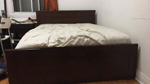 IKEA QUEEN SIZE BED FRAME - GOOD CONDITION
