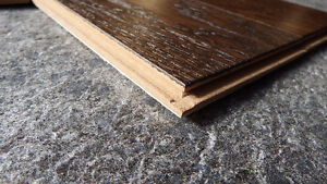 """Click or Nail 5"""" Wire Brushed Hardwood, Incredible Value London Ontario image 7"""