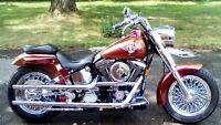 Harley Davidson 1999 fat boy (modèle unique)
