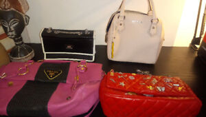 Variety of brand name handbags in excellent condition