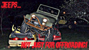 1978 stretched jeep
