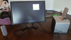 Used dell 22 inch led and accesories
