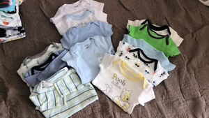 50 items! 0-3 baby boy, all you need is here ($65 or best offer)