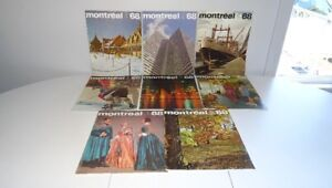 #4 Lot 8 Ancienne Revue Magazine Montreal 1968