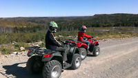 "2012 & 2013 Kymco ATV""s like new!!"