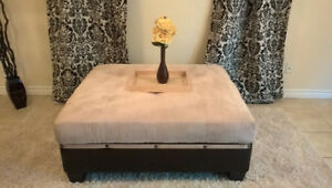 OVERSIZED Ottoman/Coffee Table for sale I DELIVER