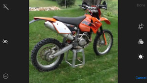 2006 KTM 400 exc/ Open for trades