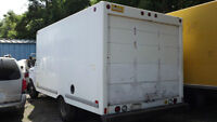 1998 Ford F-350 ECONOLINE CUBE VAN BOX ONLY