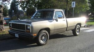 1985 Dodge 3/4 Ton . D250 First Generation. Truck.