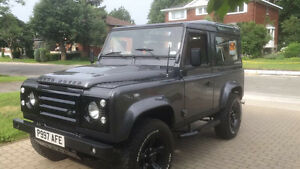 FOR SALE: 1997 Fully Restored Land Rover