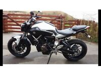 Yamaha MT07 2015 BRAND NEW! £5000 no offers, take part ex trials bike.