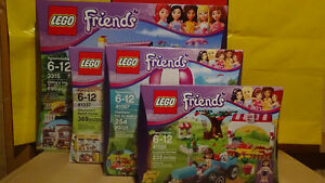 Lego Friends Lot, all brand new
