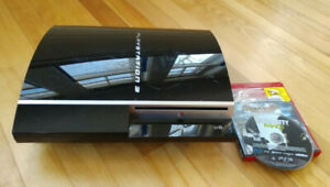 Sony Playstation 3 PS3 Console Model Number CECHH01 with Lot of