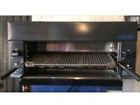 Blue seal LPG gas salamander contact grill restaurant catering