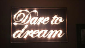 Beautiful Custom Light Sign
