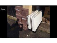 CREDA night storage heaters. X2